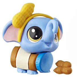 LPS Series 3 Hungry Pets Elephant (#3-190) Pet