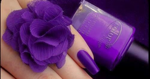 Simple Purple Nail Art Designs Fashion S Feel Tips And