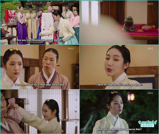 chae kyung become adult and still have the lizard ink holder - Seven Day Queen: Episode 4 korean Drama
