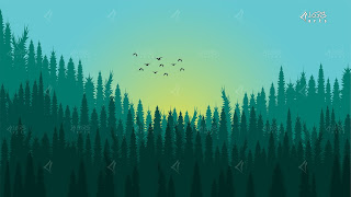Forest Sunrise B