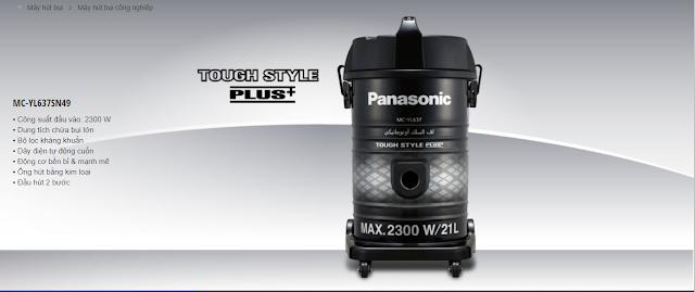 Máy hút bụi công nghiệp PANASONIC MC-YL637SN49 2300 W