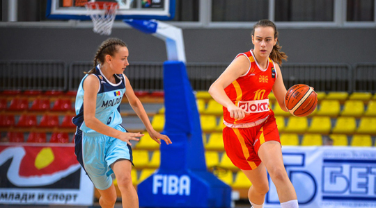 Belgium beats Macedonia in U-16 basketball championship
