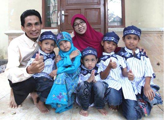 SUBHANALLAH.. Lima Bersaudara Cilik Asal Makassar Ini Hafidz Quran