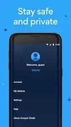 Hotspot Shield VPN Premium Apk v7.4.3 Mod (Unlocked)