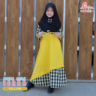 Dress Anak Terra Miulan Yellow