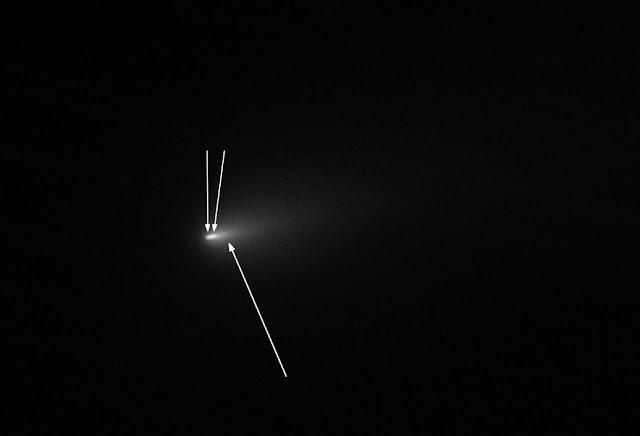 desintegração do cometa atlas