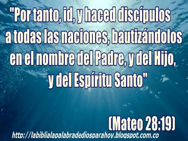 Que simboliza el agua en la Biblia