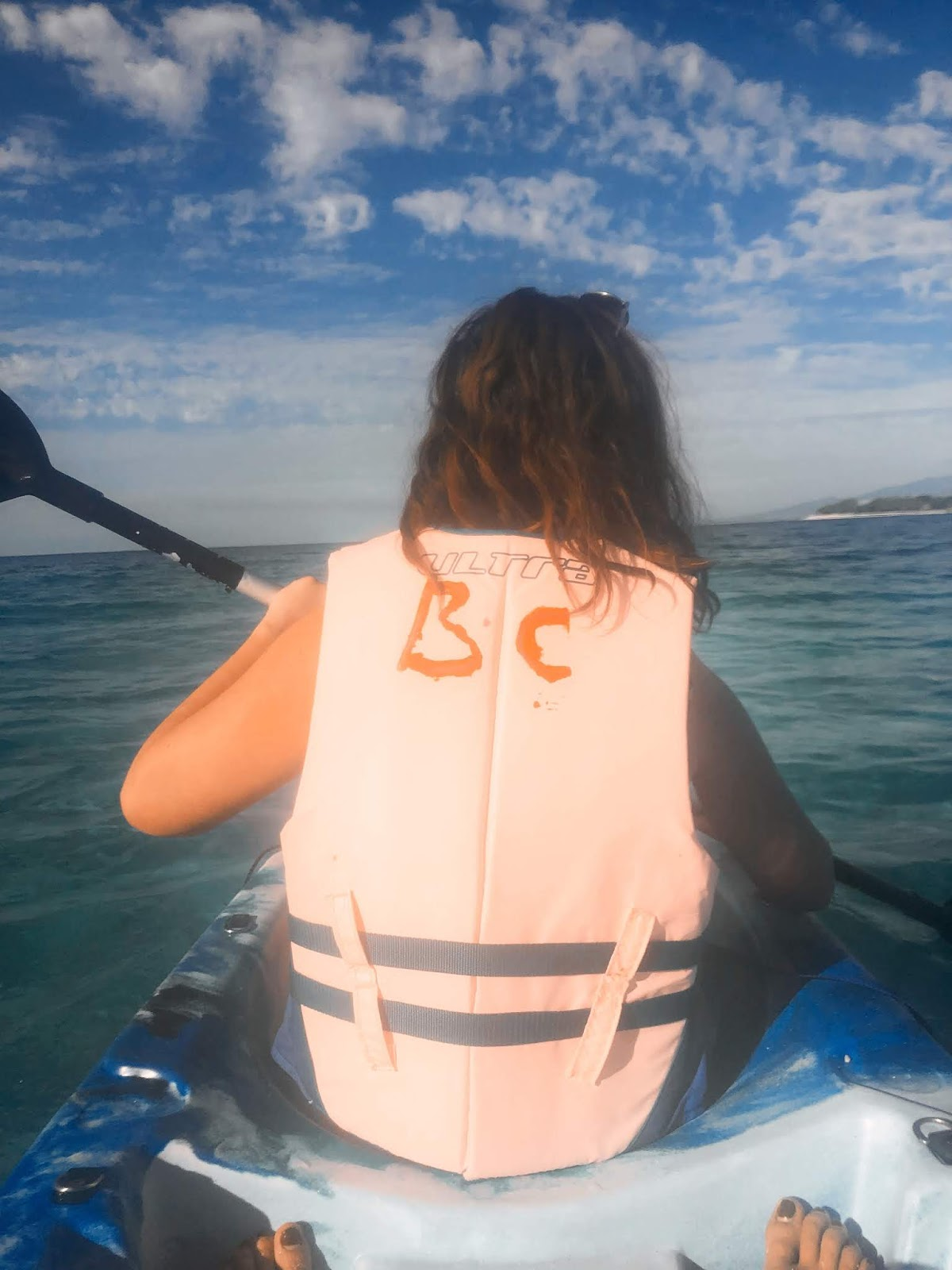 kayaking fiji