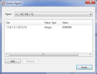 Получили объем ОЗУ рабочей станции по протоколу SNMP