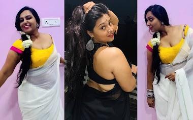 Anupama Swathi latest saree photos