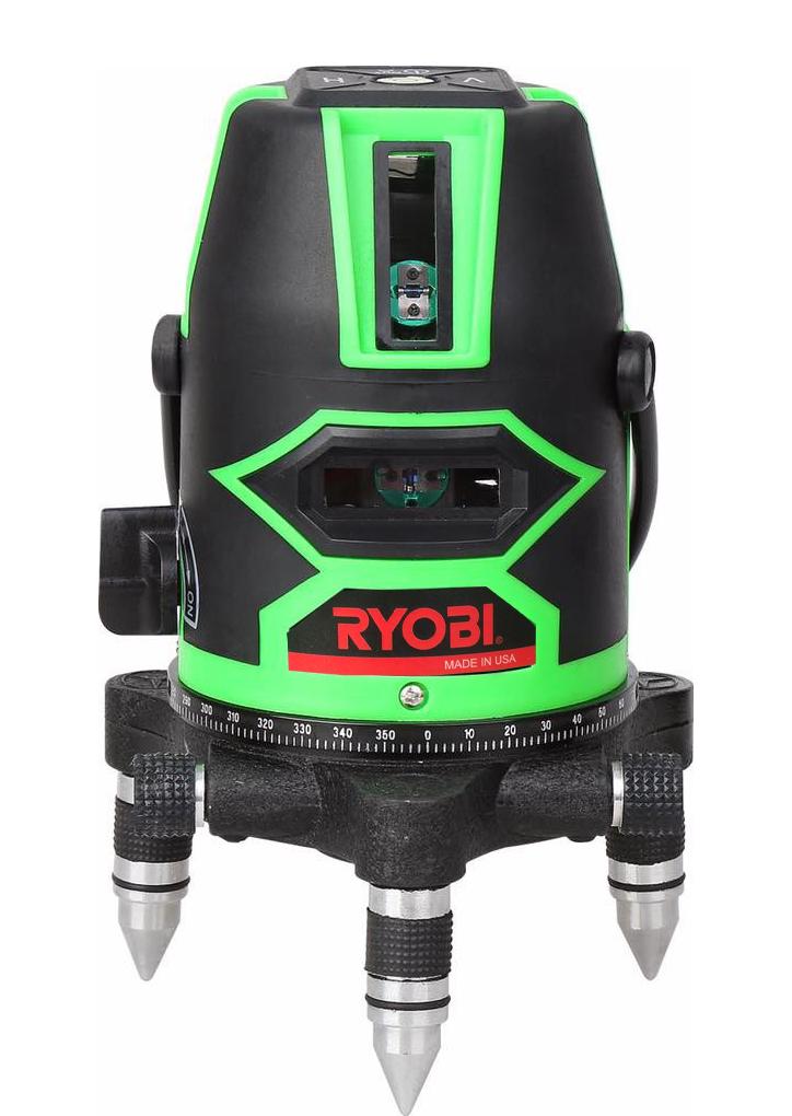 Máy cân mực laser RYOBI tia xanh