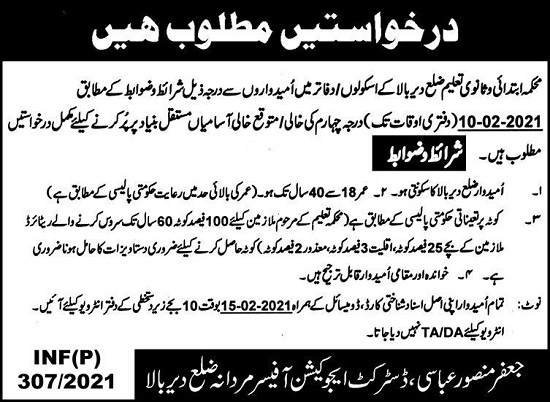 elementary-secondary-education-jobs-2021-kpk-advertisement