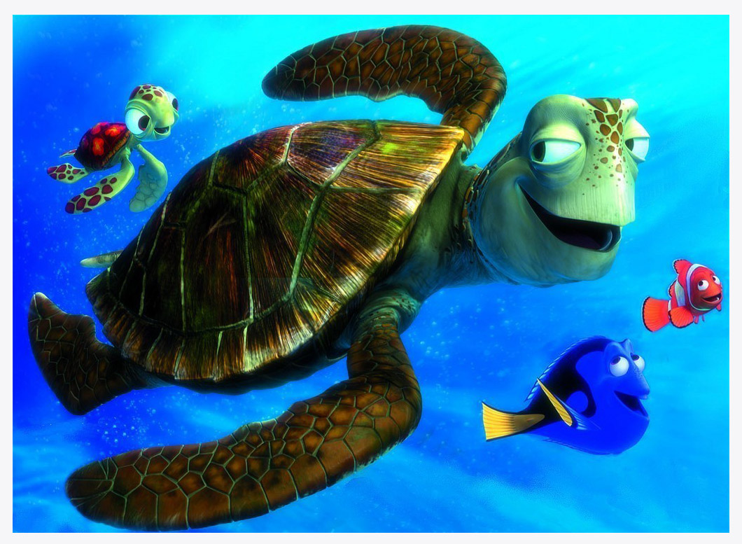 """Disney Animals """"Nemo, Dory, Turtle, and Friends"""" Character ..."""