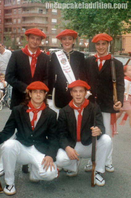 ¡Gora San Marcial! Avec notre Cantinière Alazne.