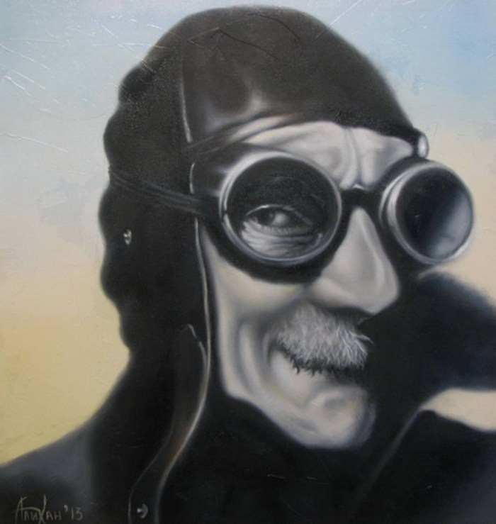 Белорусский художник. Alikhan Alikhanov