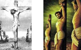 Murió Jesús en una Cruz