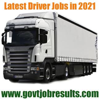 Latest Driver Jobs 2020