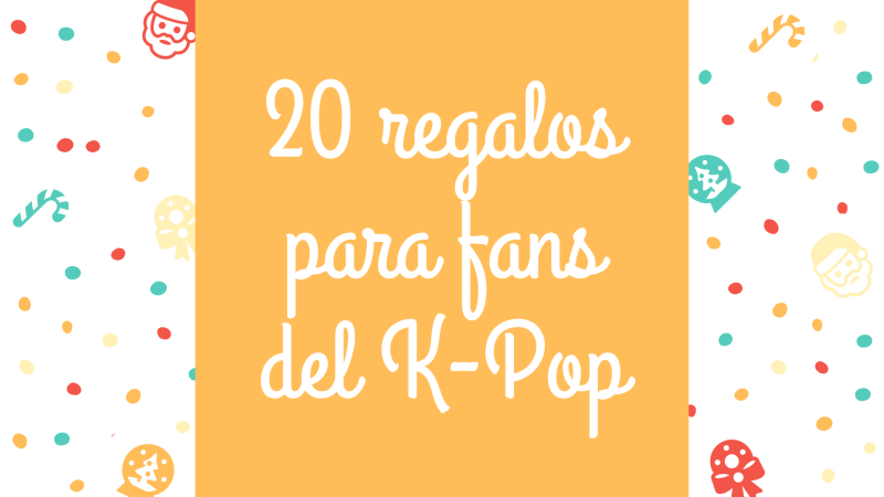 regalos fans de k-pop kpopers