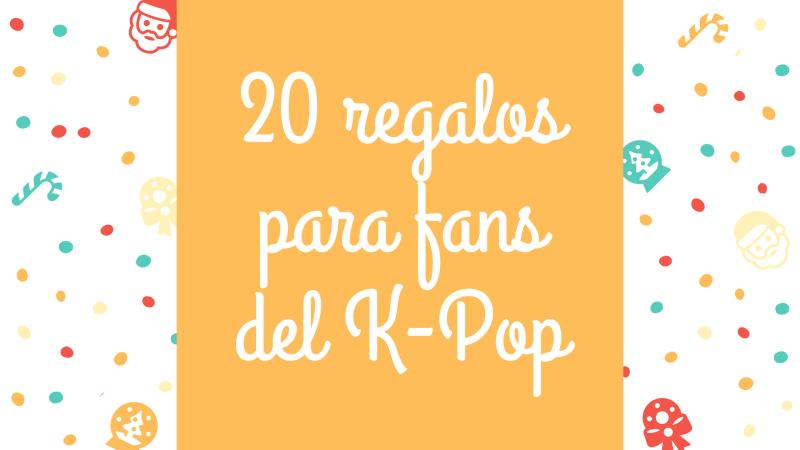 regalos fans de k-pop kpopers