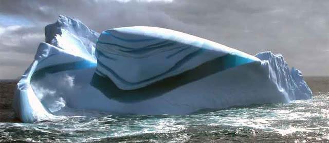 gunung es cantik