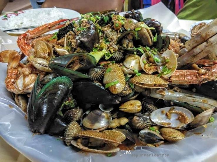 Makan Shellout di Bagan Lalang