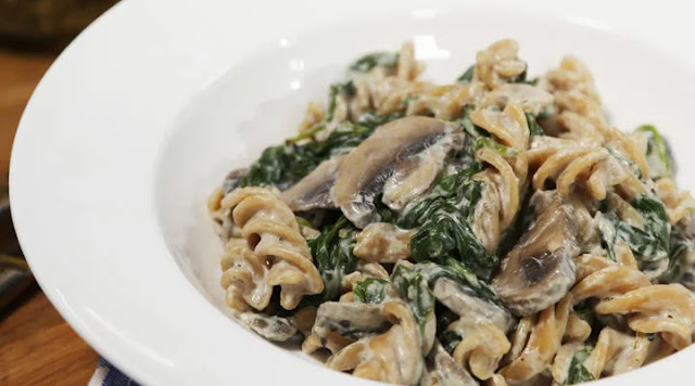 Easy to make delicious Mushroom Pasta at home