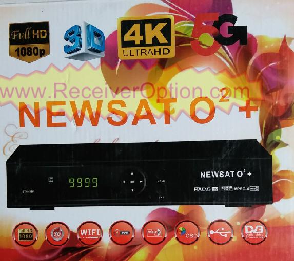 NEWSAT O2+ HD RECEIVER TEN SPORTS OK NEW SOFTWARE