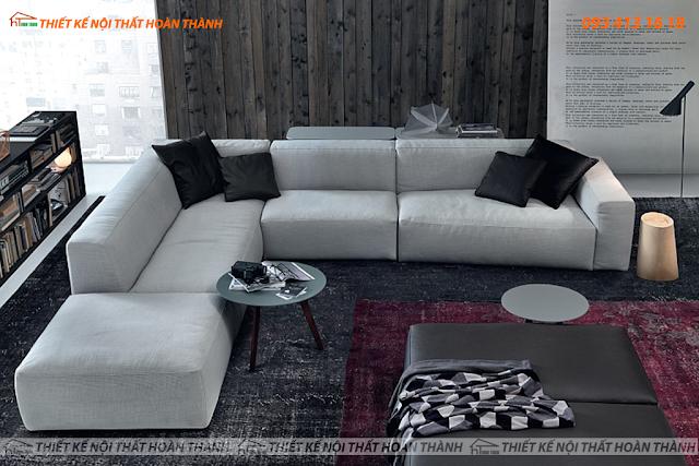 Phong cách nội thất phòng khách kiểu Ý cho biệt thự hiện đại