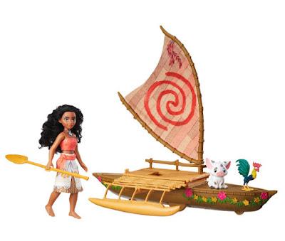 JUGUETES - DISNEY Vaiana  Canoa Luz de las Estrellas : Muñeca + amigos  Hasbro 2016 | PELICULA | A partir de 3 años  Comprar en Amazon España