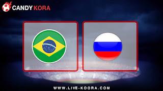 موعد مباراة روسيا والبرازيل اليوم 23-3-2018 مباراة ودية
