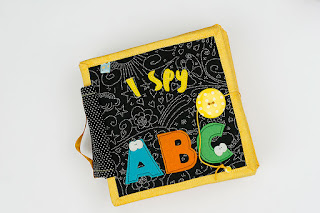 I spy ABC quiet book