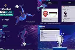 Menu Mod UEFA Champions League 2021 - PES 2021