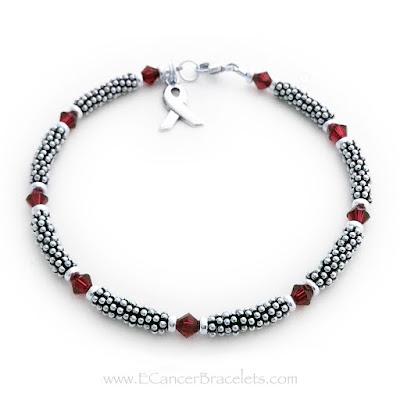 Red Ribbon Rope Bracelet