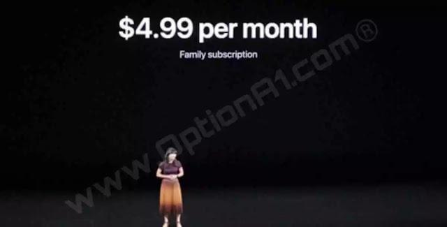 سعر اشتراك خدمة العاب ابل Apple Arcade