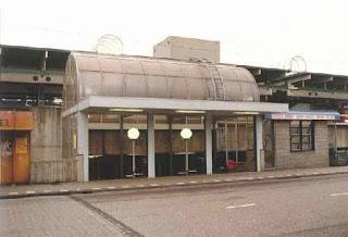 Station Bijlmer in de jaren ´90