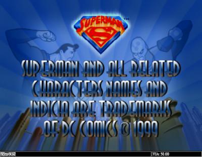 【N64】超人(Superman),悲劇的繞圈圈飛行遊戲!