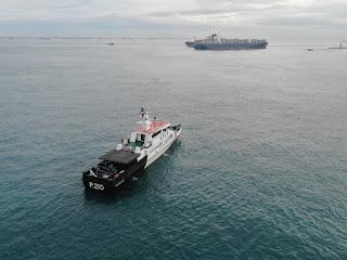 Lagi,  Kapal Kandas di Perairan Batu Berhenti