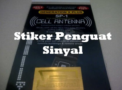 Stiker Penguat Sinyal