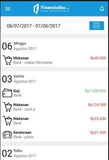 Aplikasi pengatur keuangan android terbaik