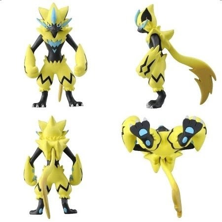 Zeraora figure Pokemon Figure Takara Tomy MONCOLLE EX ESP_03
