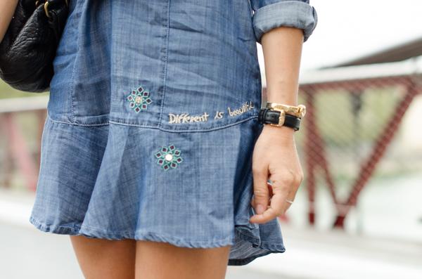 Desigual robe en jean