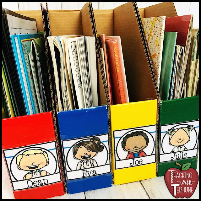 Classroom Magazine Holder Labels