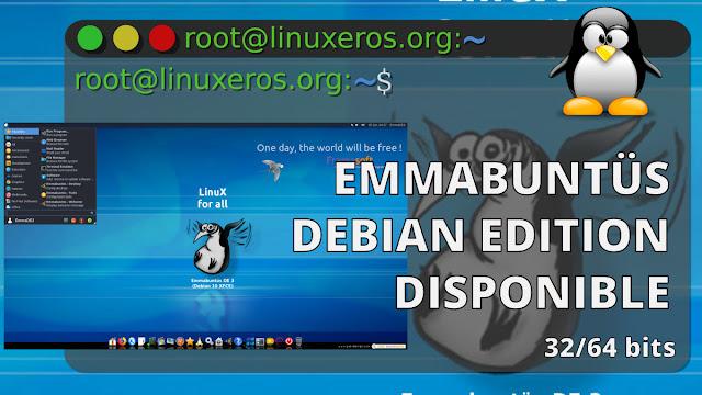 Emmabuntüs Linux, con Debian Buster 10.6, Xfce y LXQt