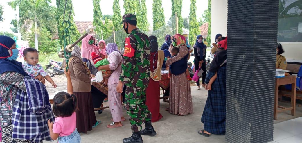 Pelayanan Posyandu di Desa Sukorejo Tetap Mengikuti Protokol Kesehatan