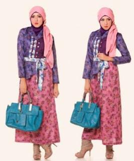 model batik muslim modis