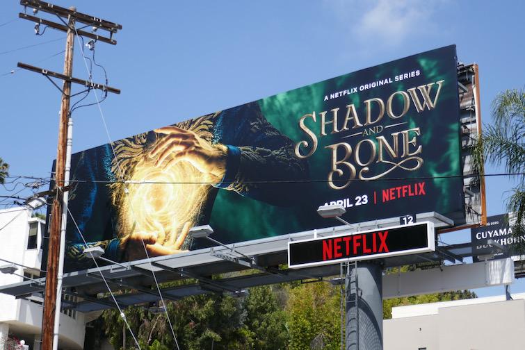 Shadow and Bone series premiere billboard