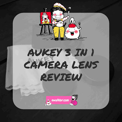 aukey 3 in 1 camera lens review