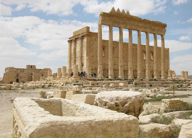 Destroyed Temple of Bel in Syria's Palmyra digitally reconstructed