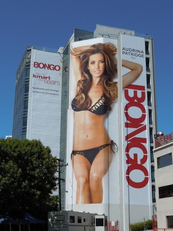 Audrina Patridge Bongo bikini billboard