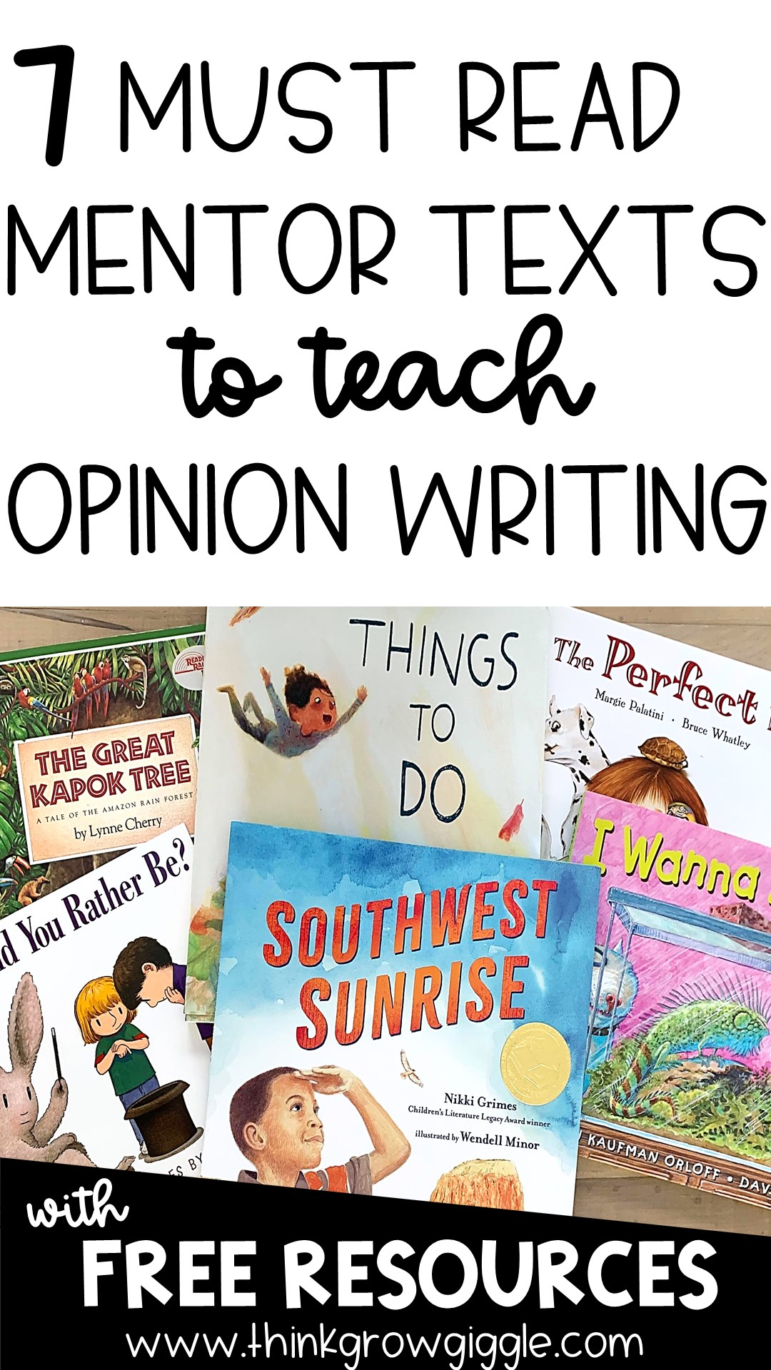 opinion writing lesson plan ideas for kids